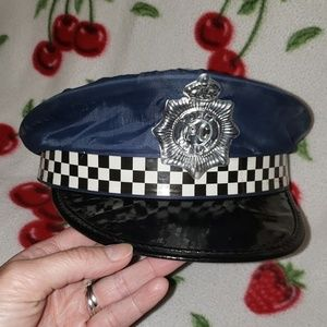 Cop hat for a small head